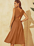 Розкльошене  плаття відрізне по талі ЛІТО, фото 9