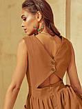 Розкльошене  плаття відрізне по талі ЛІТО, фото 10