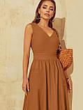 Розкльошене  плаття відрізне по талі ЛІТО, фото 8