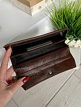 Женский кожаный кошелёк Balisa Light коричневый ККБЛ56, фото 2