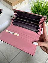 Жіночий гаманець на магнітах Shine рожевий ЖКШ17, фото 2