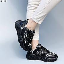 Крутые кроссовки для девушек 6118 (ВБ), фото 3