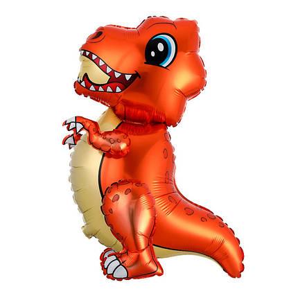 Ходяча / Стояча фігура Маленький динозавр, помаранчевий (Китай), фото 2