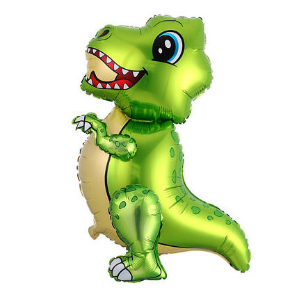Ходячая фигура КИТАЙ-КТ Маленький динозавр - зеленый (УП), фото 2