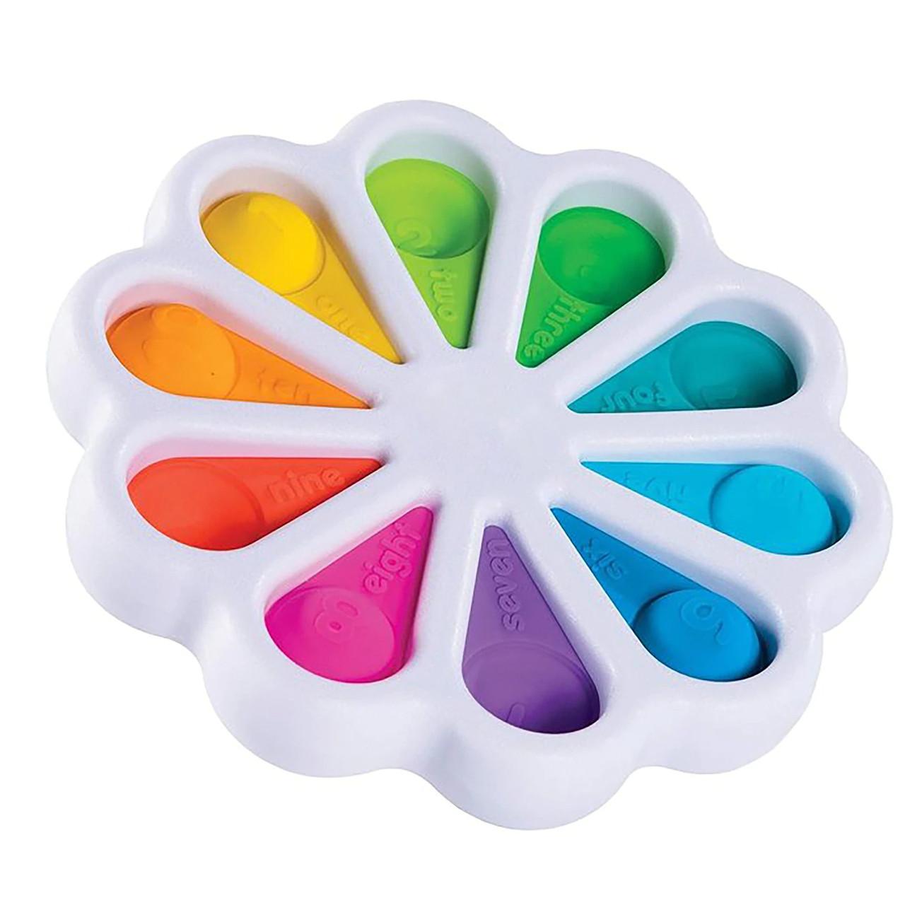 Сенсорная игрушка Simple Dimple поп ит антистресс симпл димпл pop it детский цветок