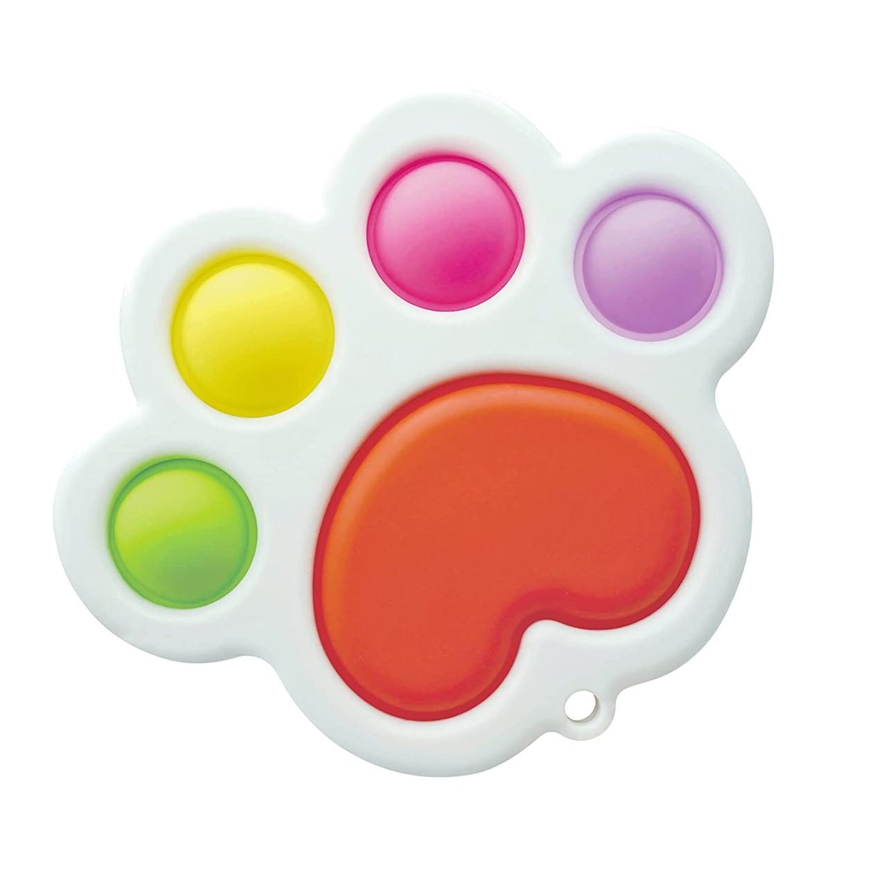 Сенсорна іграшка Simple Dimple поп іт антистрес сімпл дімпл pop it лапка