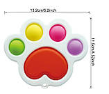 Сенсорна іграшка Simple Dimple поп іт антистрес сімпл дімпл pop it лапка, фото 2