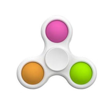 Сенсорна іграшка Simple Dimple поп іт антистрес сімпл дімпл pop it спинер пупырка 3