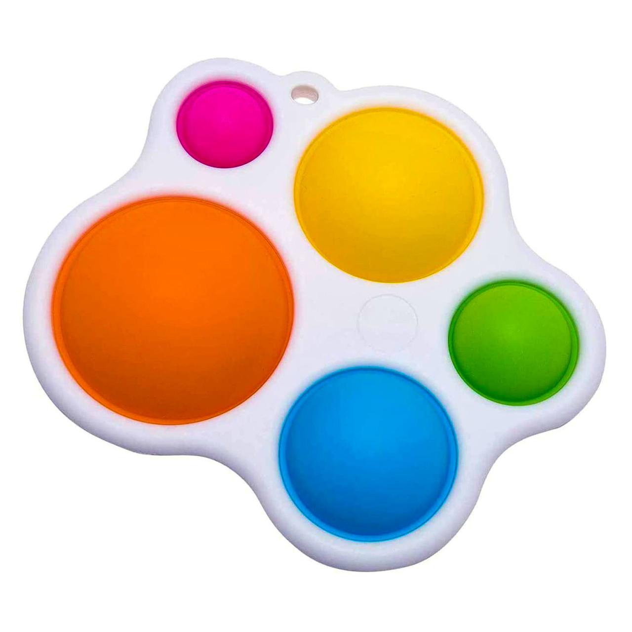 Сенсорна іграшка Simple Dimple поп іт антистрес сімпл дімпл pop it палітра 1
