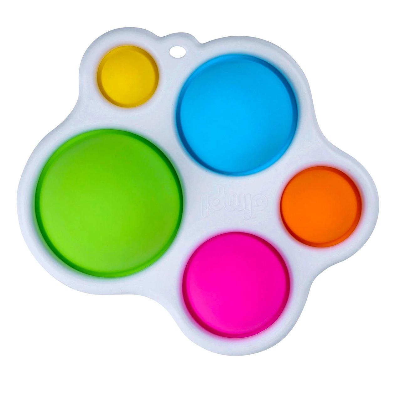 Сенсорная игрушка Simple Dimple поп ит антистресс симпл димпл pop it палитра 5