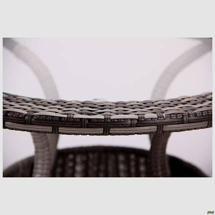 Стол Catalina ротанг серый, фото 2