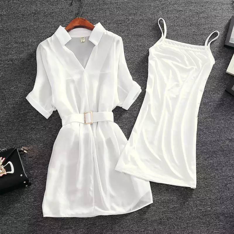 Жіноче плаття, віскоза + креп шифон, р-р універсальний 42-46 (білий)