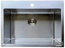 Кухонная мойка Galati Arta U-550 из нержавеющей стали (под столешницу)