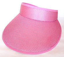 Козырек от солнца Fashion (56-58 см) розовый