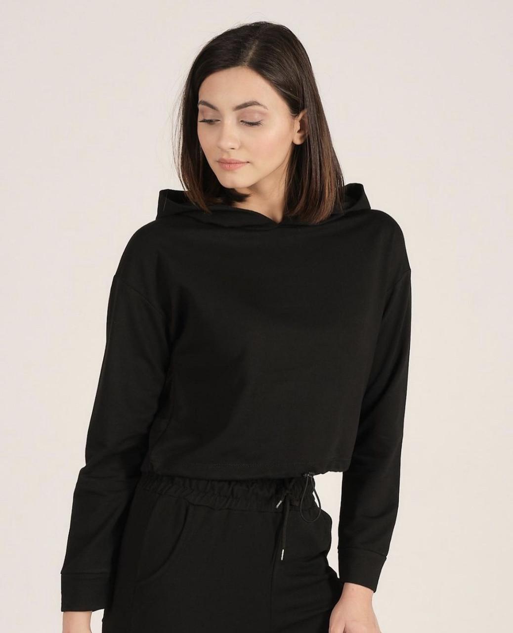 Женская кофта худи с капюшоном (42-46)