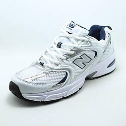 Белые женские кроссовки New Balance WR530SG сетка