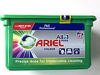 Капсули для прання кольорової білизни Ariel All in 1 Color, 42 шт