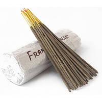 Аромапалочки натуральные Frank Incense (Ладан) Благовония весовые Индия
