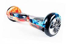 Гироскутер SmartWay U3 Pro Music LED з самобалансом і додатком Вогонь і лід (SM0001U3FC)