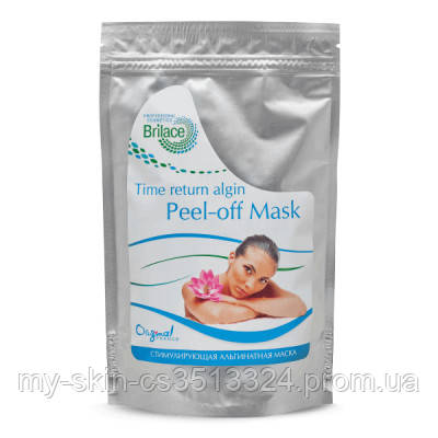 Альгінатна стимулююча маска для обличчя Time return algin peel-off mask 150 gr