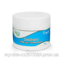 Маска для лица с клюквой Cranberry anti-age cream mask 300 gr