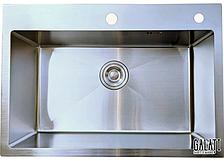 Кухонная мойка Galati Arta U-600 из нержавейки (под столешницу)