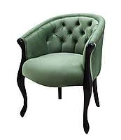 Кресло Мэри Прованс стиль на фигурных деревянных ножках, фото 1