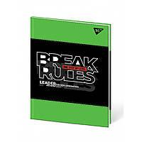 """Щоденник шкільний YES PU жорсткий """"Break rules"""" друк 911337"""
