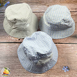 Панамка зі вставками сітки для хлопчика (обсяг 52 - 54 см) (01900)
