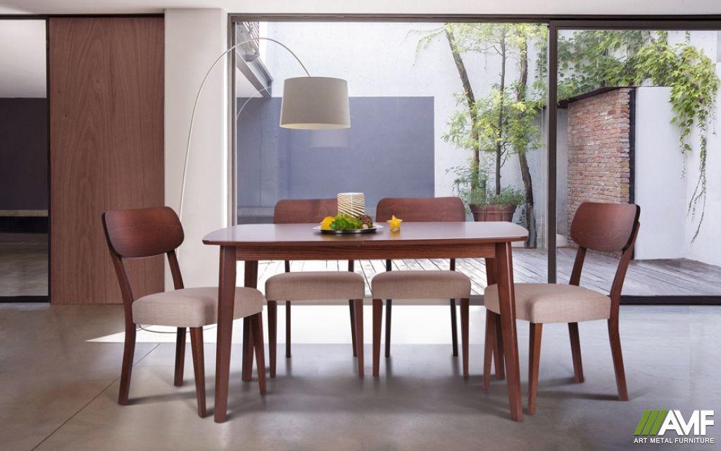 Обеденный комплект: стол Орлеан и стулья Честер AMF™