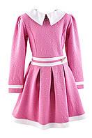 """Детское нарядное платье  """"Бриз"""" розовое"""