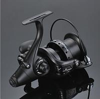 Карповая катушка Coonor WN 6000 безынерционная, с байтраннером для карповой и фидерной рыбалки.