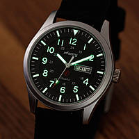 Часы INFANTRY Mens Analog Quartz DATE DAY Military Sport Luminous Nylon
