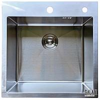 Кухонная мойка из нержавейки Galati Arta U-450