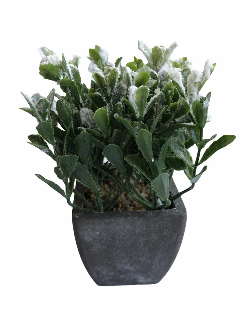 Декоративное искусственое растение в снегу Excellent Flowers