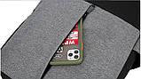 Городские Рюкзак-USB с барсетка 3в1 Туристический спортивный рюкзак и портфели школьные Для мужчин и женщин, фото 8