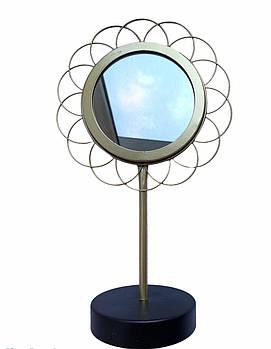 Металлическое настольное зеркало Home Accents