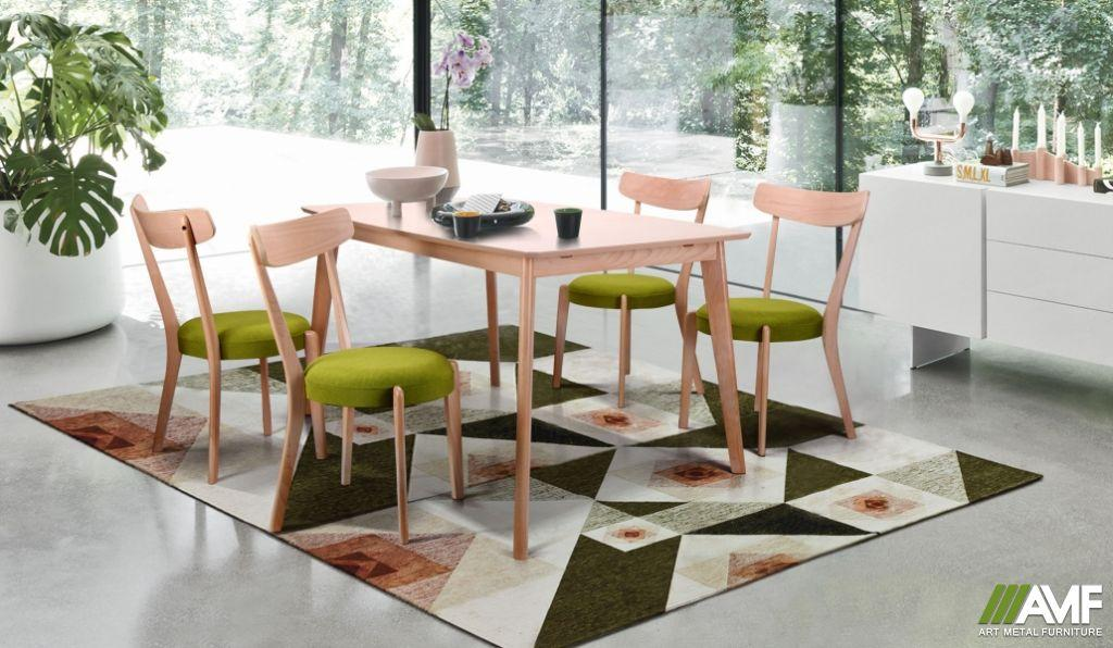 Обеденный комплект: стол Чедер и стулья Пекорино AMF™