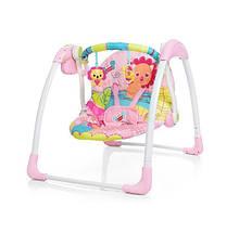 Шезлонг-качалка Mastela Deluxe Portable Swing Рожева (LI22058)