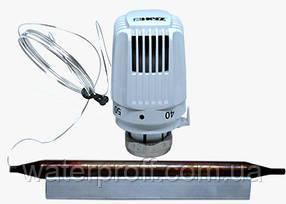 Термостатическая головка с накладным датчиком М 28 х 1,5 Klassik (40-70°C), HERZ