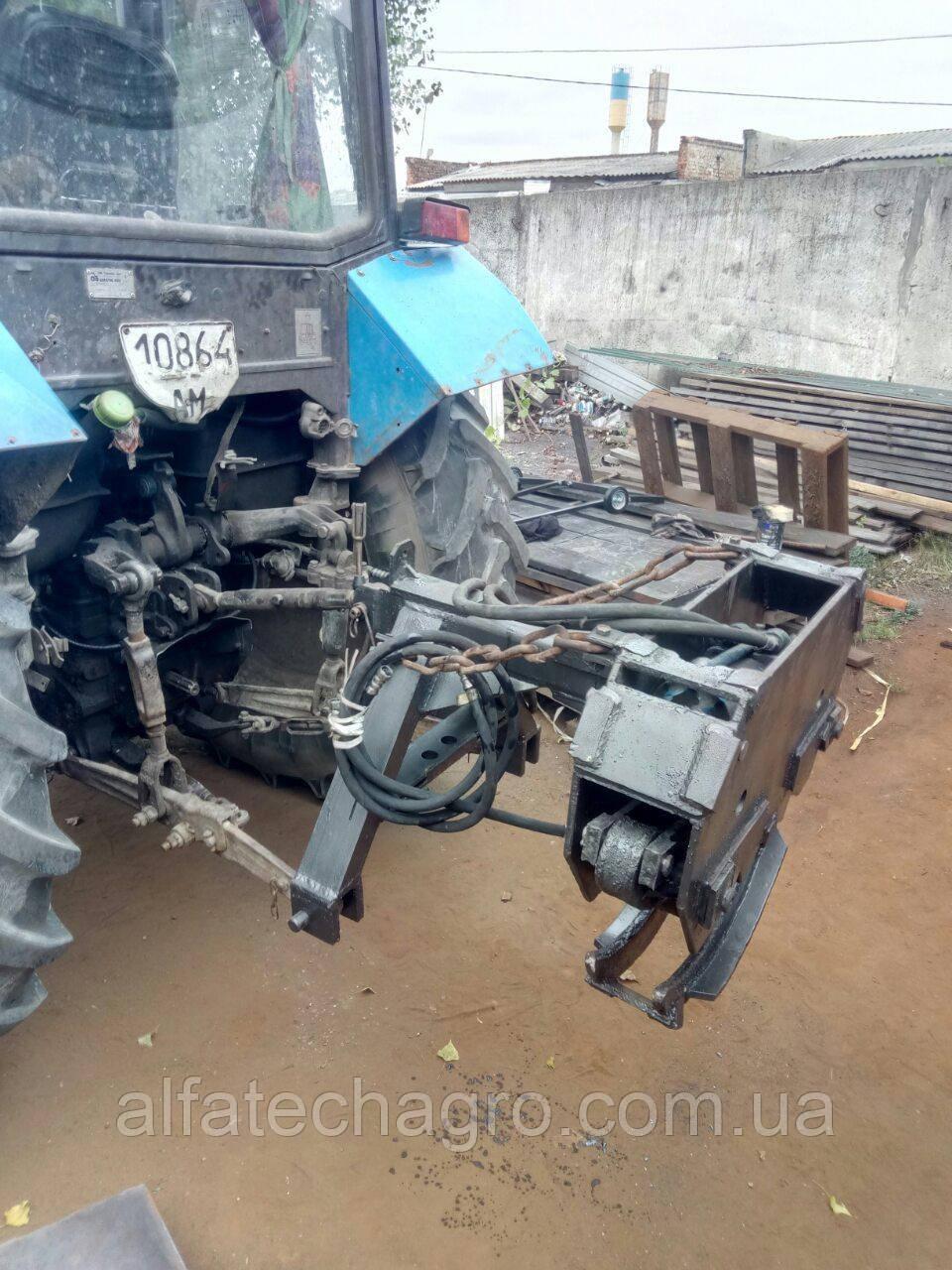 Захват для трелевки леса тракторный