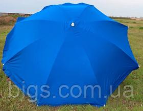 Зонт пляжный Торговый круглый 3.5 м из плотной ткани