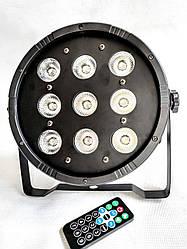 Прожектор Led Par 9x12 RGBW 3in1