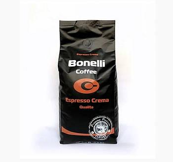 Кофе в зернах Bonelli Espresso Crema Бразилия 1000gr 80% Арабика, 20% Робуста