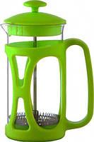 Con Brio Заварник пресс 350-мл стекло + пластик  зеленый 5360-CB зеленый