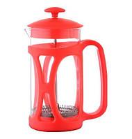 Con Brio Заварник прес 350-мл стекло + пластик красный 5360-CB красный