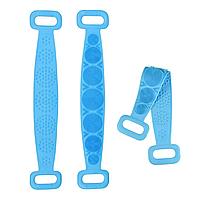 Масажер для тіла Food grade silica gel bath tower, синій, фото 1