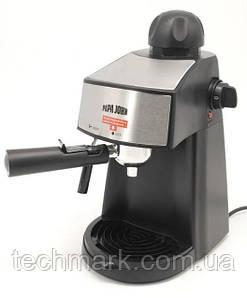 Кофеварка эспрессо, кофеварка рожковая Papa John 800 Вт