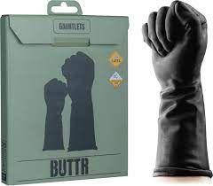 Перчатки латексные для фистинга Buttr Gauntlets Fisting Gloves