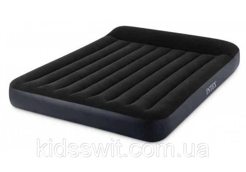 Intex Велюр Ліжко 64143 двомісна, Розмір: 203х152х25см